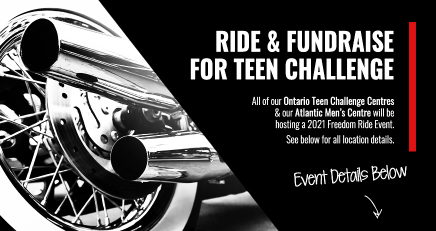 Ride & Fundraise For Teen Challenge